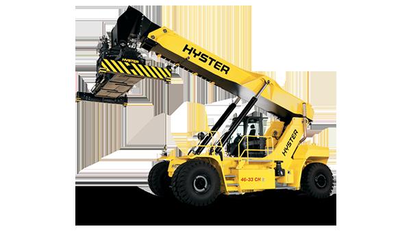 Xe nâng chụp container HYSTER Model RS46, sức nâng 46 Tấn
