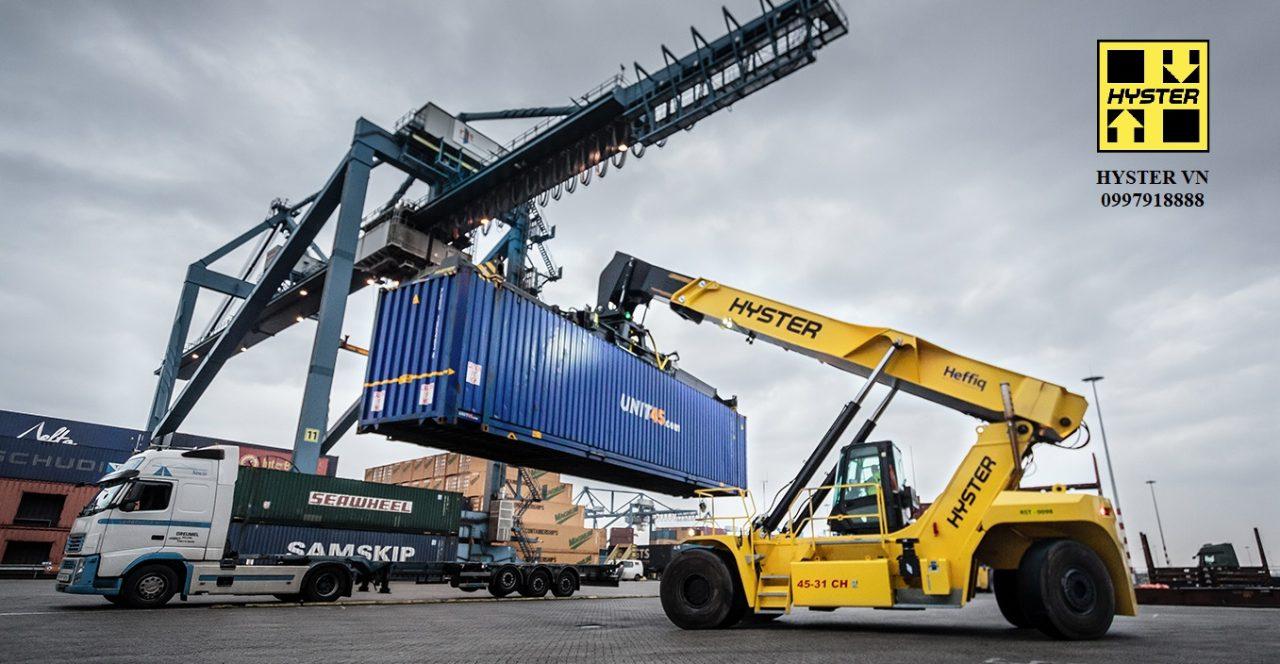 Các hãng xe nâng container rỗng, container hàng ( Reach Stacker) tốt nhất thế giới – Top 5 Reach Stacker